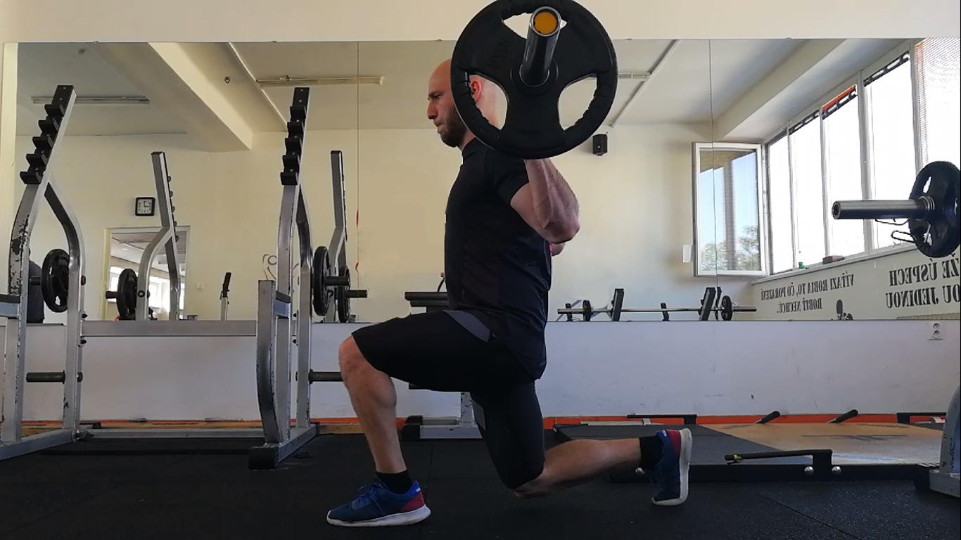 Tréning nôh – LEG day