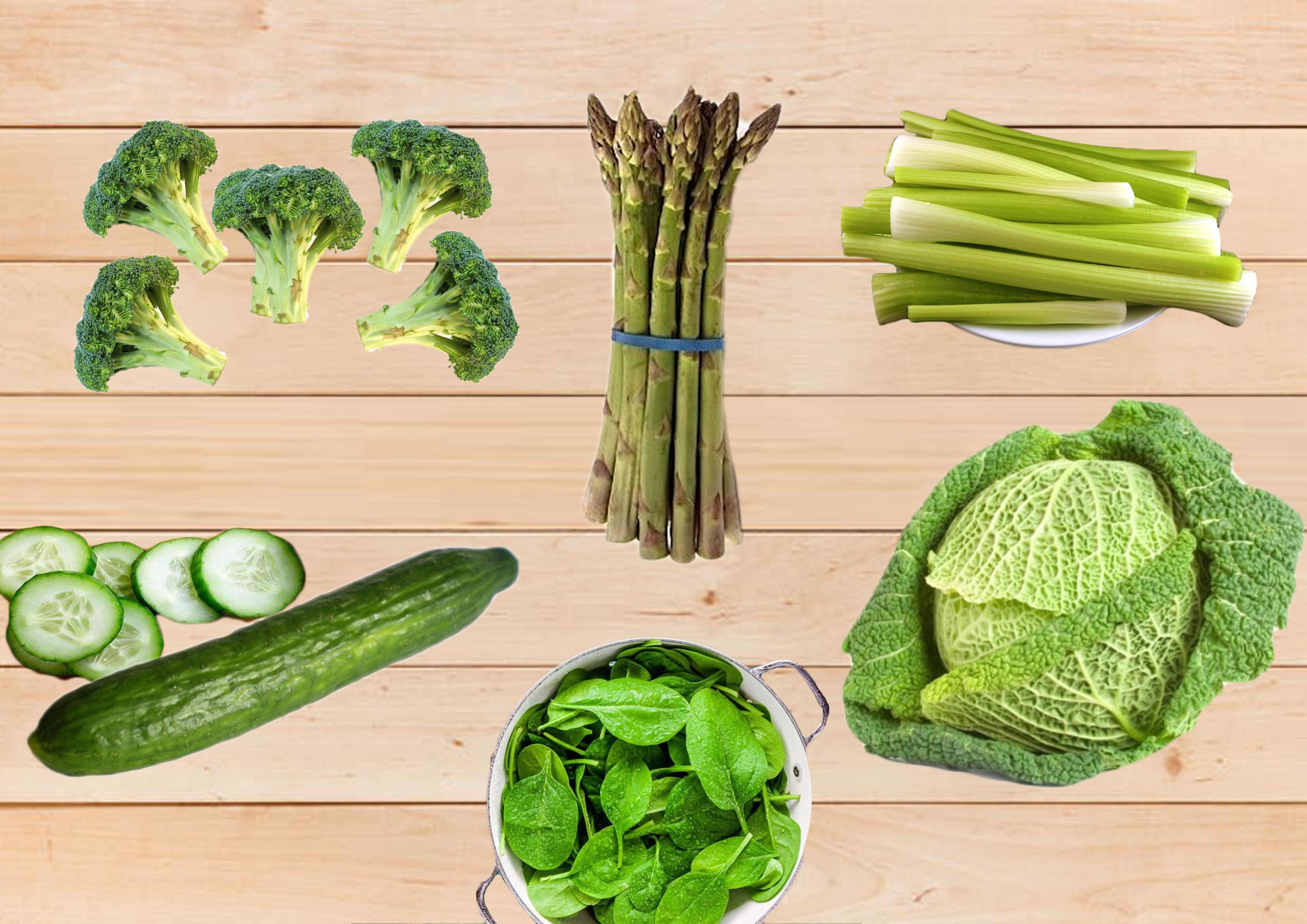 Nízkokalorická Zelenina/vitamíny/výhody