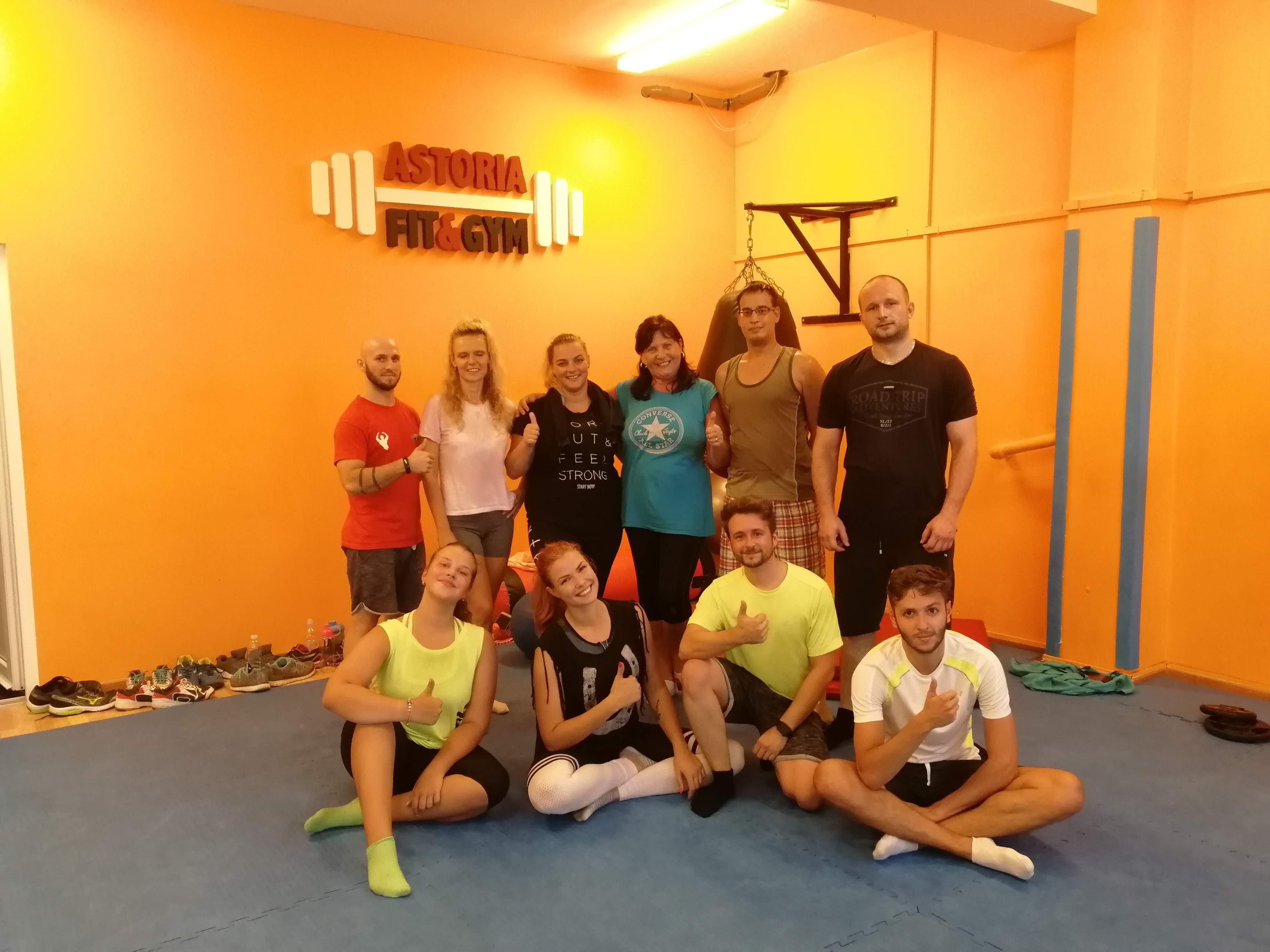 Kruhový tréning Košice Astoria 6.9